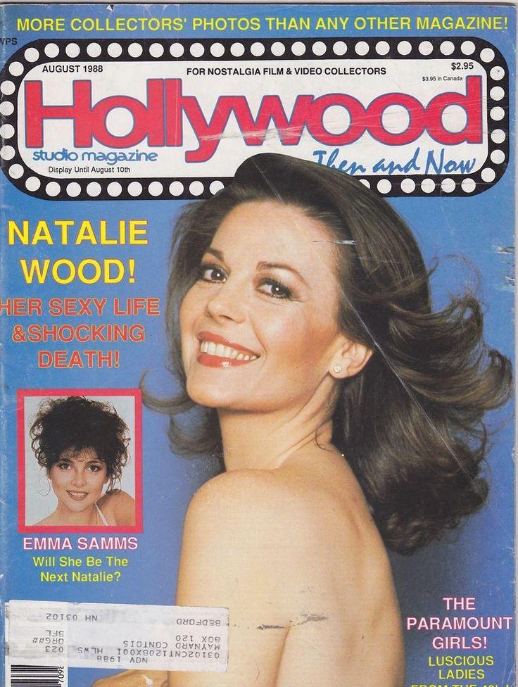 vintage movie magazines   AUG 1988 HOLLYWOOD STUDIO vintage movie magazine NATALIE WOOD   eBay