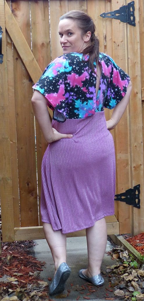 Newly Released Rebecca Page Patterns Petra Party Dress!  LOVE the fit and flow!