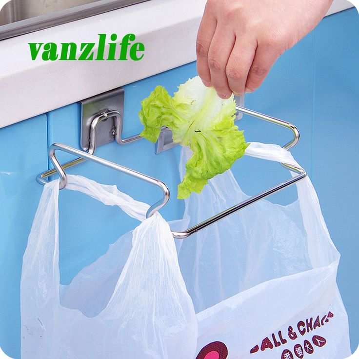 Купить товарVanzlife творческий задняя дверь из нержавеющей стали для мусора мешок хранения полки крюк многофункциональный кухня двери шкафа висит стеллажи в категории Держатели и вешалки для храненияна AliExpress. Vanzlife творческий задняя дверь из нержавеющей стали для мусора мешок хранения полки крюк многофункциональный кухня двери шкафа висит стеллажи