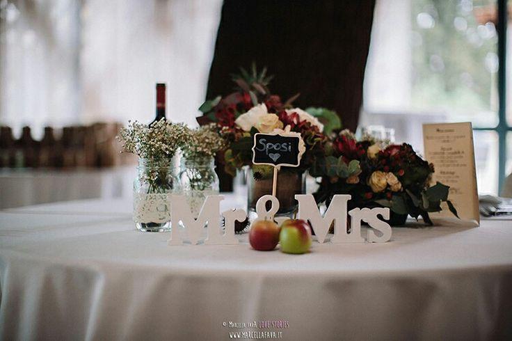 Bride+Groom's table ideas