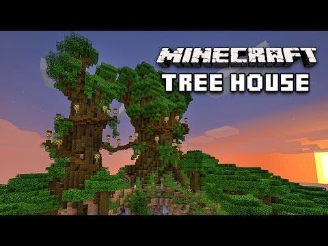 64 Best Minecraft Tree Houses Images On Pinterest