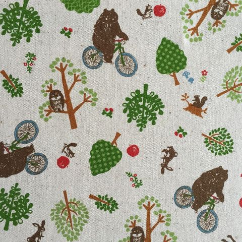 Bears on bicycles