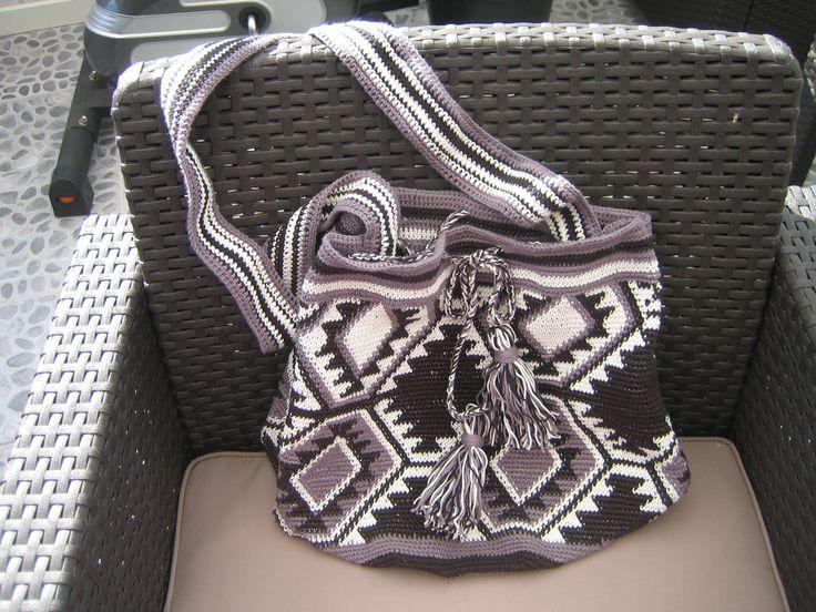 Hæklet taske