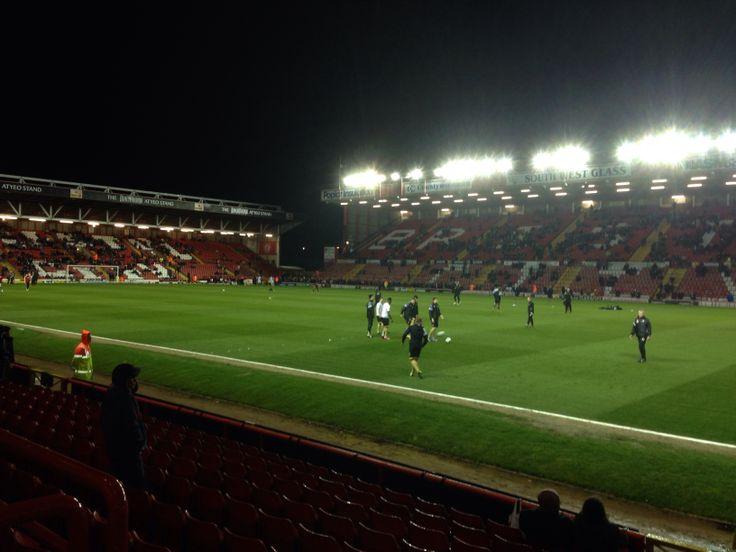 Ashton Gate - home of Bristol City F.C.