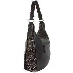 Lindsay Studded Hobo Handbag | Handbag Heaven | Discount Handbags & Purses