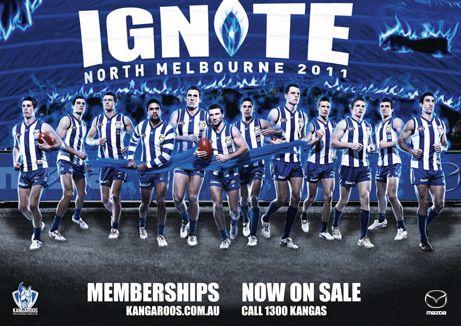 North Melbourne Football Club membership campaign