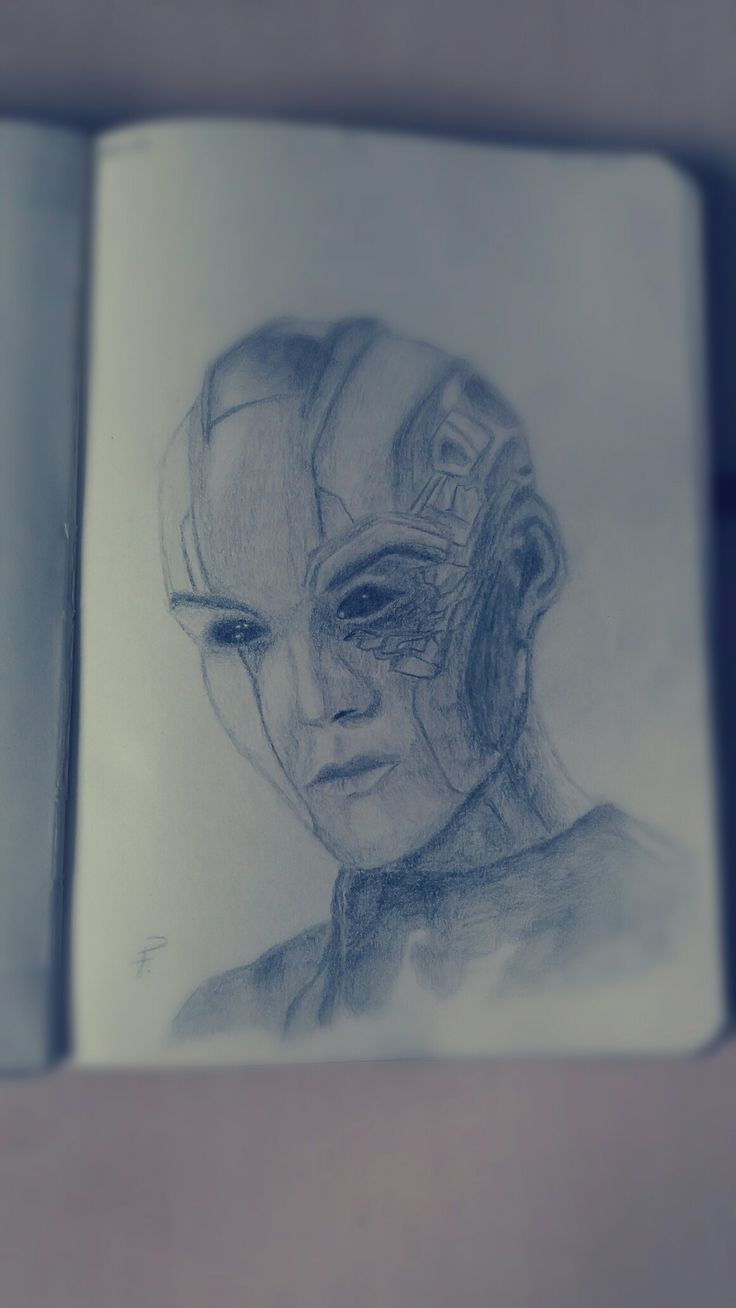 Nebula (Guardians Of The Galaxy) Drawing