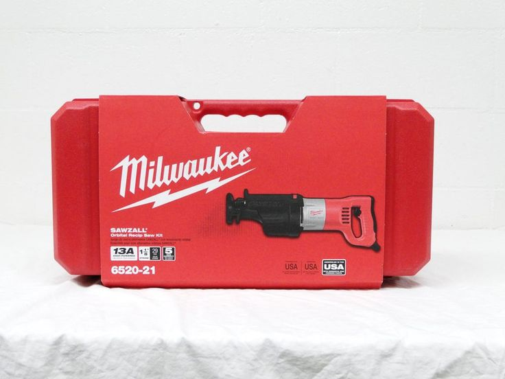 New Milwaukee 6520-21 Orbital Sawzall Kit Corded Electric 13A Reciprocating Saw #Milwaukee #Orbital #Sawzall #Reciprocating #Recipro #Saw #Tool #Tools #Construction #Cutting