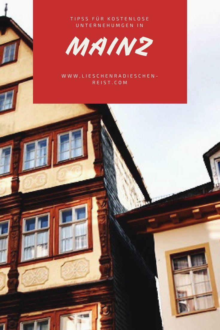 Mainz - die unterschätzte Landeshauptstadt von Rheinlandpfalz - ist eine wahre Perle. Ich zeige dir Tipps für kostenlose Unternehmungen und wie du das gesparte Geld in tollen Läden und Cafés wieder ausgeben kannst.