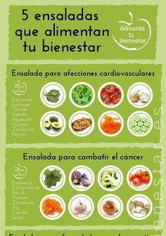 Beneficios de los diferentes tipos de ensalada
