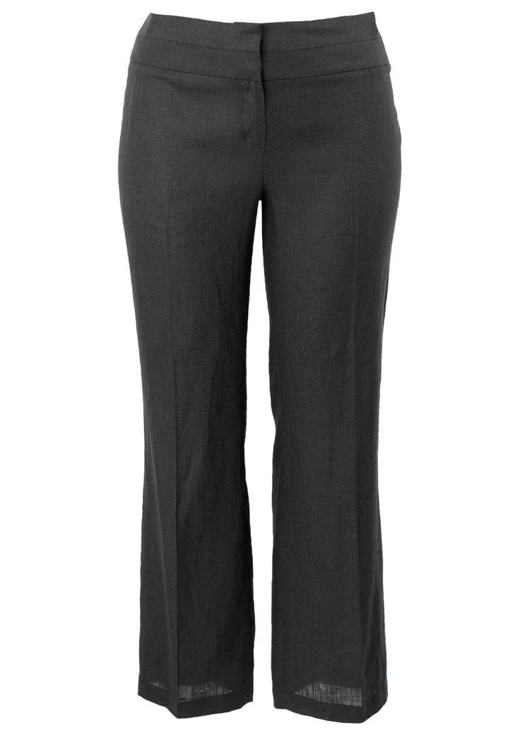 """Bestel nu een Broek linnen zwart 33"""" online bij Promiss. Levering binnen 2 werkdagen. In stijl genieten iedere dag opnieuw. Promiss, jouw stijl, jouw dag!"""