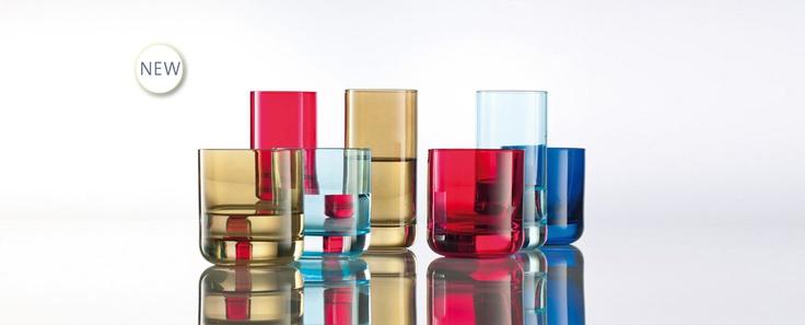 Spots - barevné barové sklenice vhodné do myčky