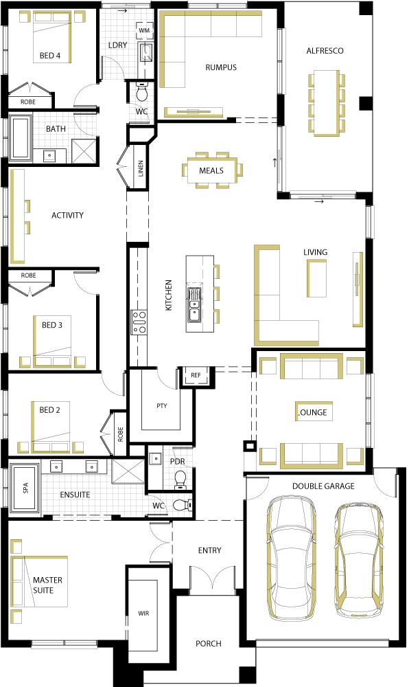 floorplan 35 - Ascot -I could definitely live here