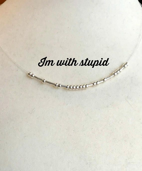 MATURE 16 /'B-tch/' necklace