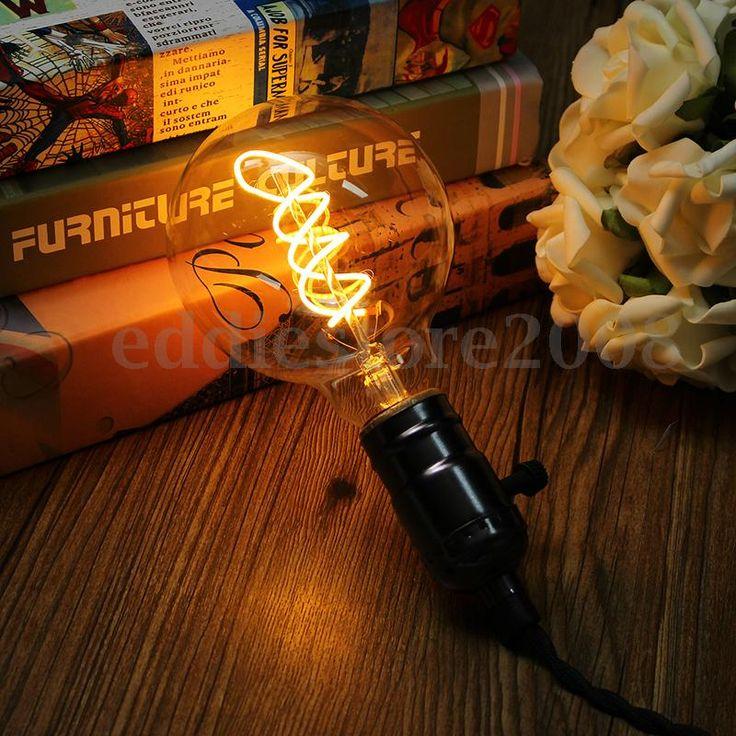 E27-Dimmable-Retro-Vintage-4W-COB-LED-Edison-Glass-Light-Bulb-Lamp-110V-220V