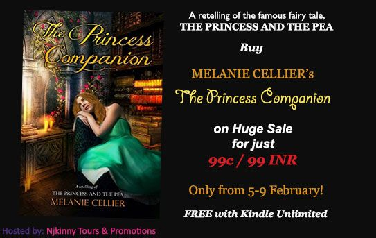 99c/99 INR Sale, Book Blitz: The Princess Companion: A Retelling of The Princess and the Pea (The Four Kingdoms Book 1) by Melanie Cellier ~ Njkinny's World of Books & Stuff http://www.njkinnysblog.com/2016/02/99c99-inr-sale-The-Princess-Companion.html #Teen #YA #LimitedTimeSale #FairyTaleRetelling #NewRelease #WorldwideSale #HighlyRated #MustGrab