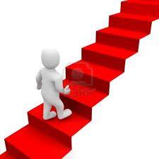 7. Ley de la escalera  Cada categoría tiene una escalera de productos en la mente de los clientes, por lo que  la estrategia que se debe utilizar depende del peldaño que se ocupe en la escalera. La  estrategia de marketing dependerá de lo pronto que se haya penetrado en la mente y,  por tanto, del peldaño que se ocupe.