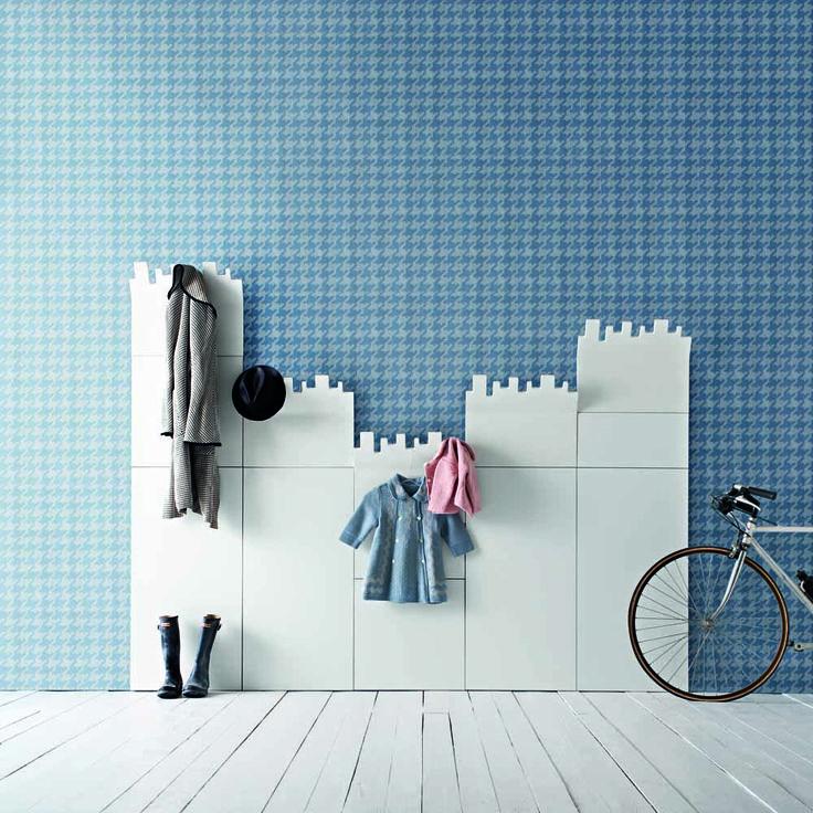 Contemporary Italian hallway wall panel for any interior. Available in at My Italian Living Ltd
