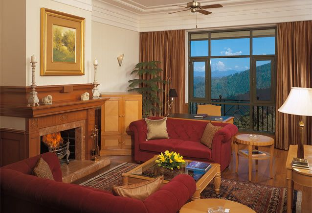 The Lord Kitchener Luxury Suite at The Wildflower Hall, Himachal Pradesh, India