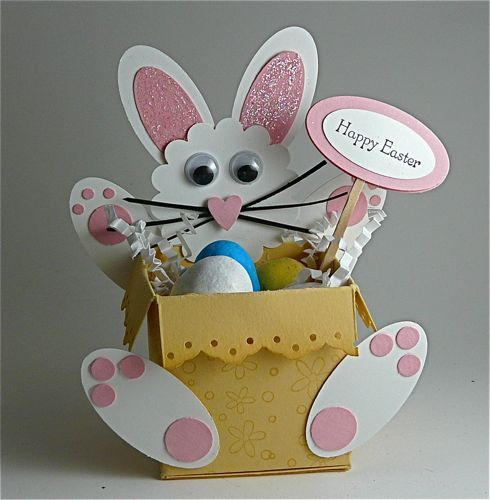 Bunny Candy Box by Stamp Addict 77 - Cards and Paper Crafts at Splitcoaststampers