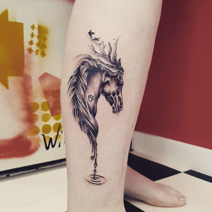 37 Spectacular Horse Tattoo Ideas That Talk of 'Strength' and 'Power'
