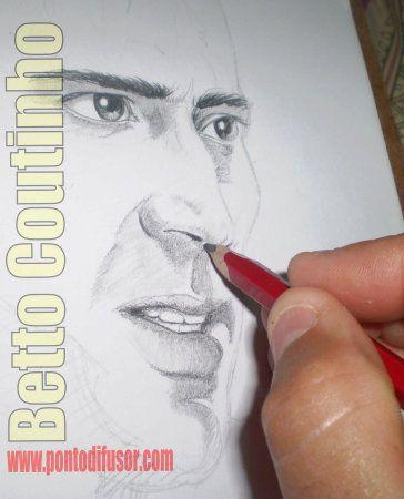 Nicolas em construção - lápis 6B