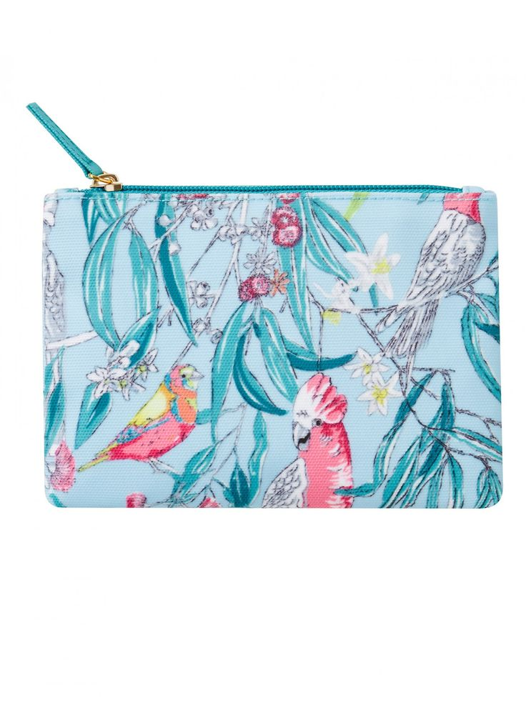 Birds & Blossoms Essentials Purse