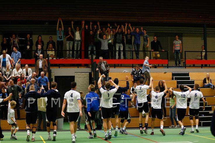 Sliedrecht Sport - Team Haaglanden (3-1) 5/10/13   Foto PimsPictures.nl   #volleybal #volleyball #topdivisie