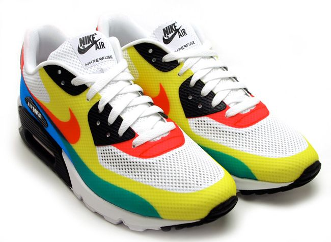 """Nike Air Max 90 Hyperfuse """"Olympic"""""""
