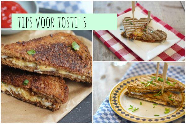 Vandaag geven we je tips voor een tosti. Op zoek naar wat lekkere tosti-ideeen? Kijk dan gauw verder1