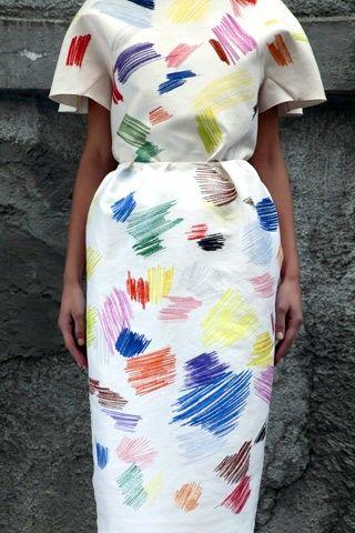 Vika Gazinskaya print dress