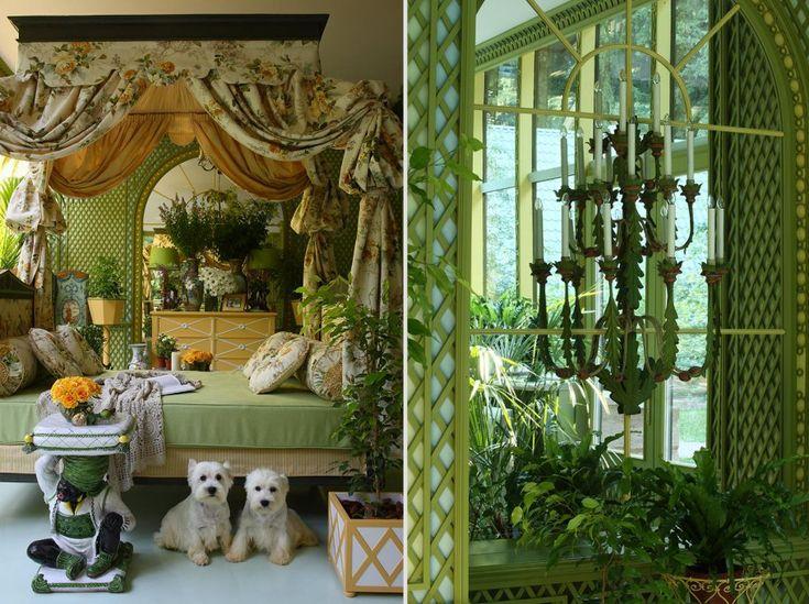 Зимний сад в загородном доме | Проекты | Kirill Istomin