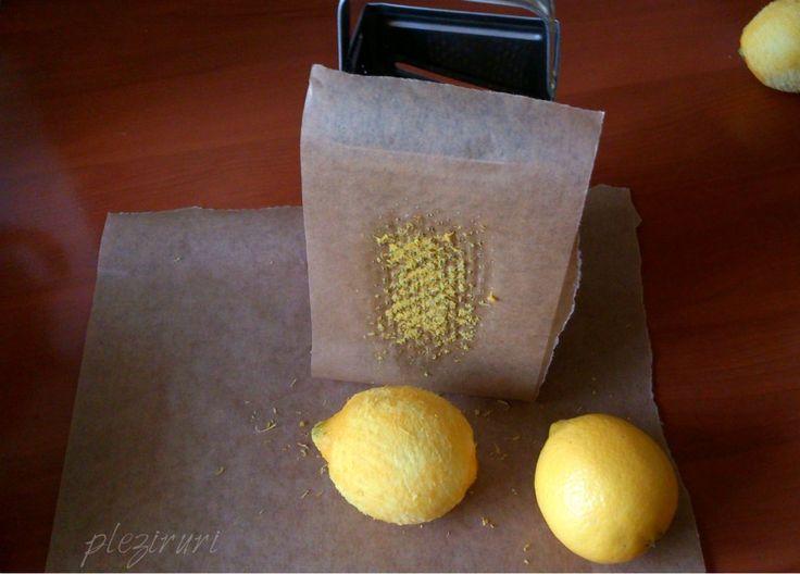 Cum rad eu coaja de lamaie sau portocala