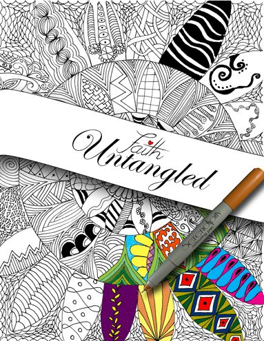 Through Eyes of Faith: Faith Untangled is Ready to Order!!  75% of the proceeds go towards a children's home in Africa.