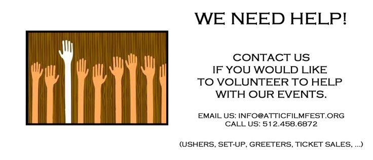 25+ best ideas about Volunteers needed on Pinterest ...