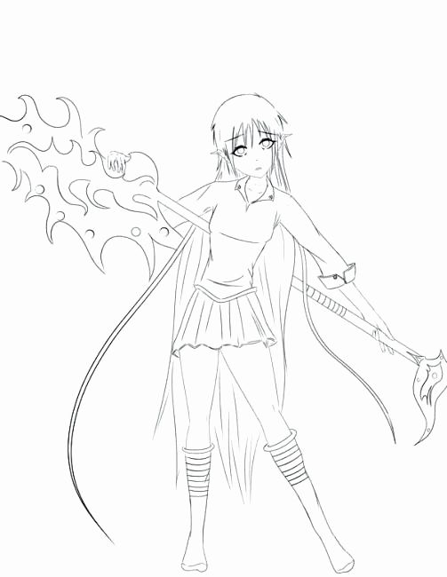 Girl Anime Coloring Pages Fresh Coloring Pages Of Anime Girls Atomclick In 2020 Coloring Pages Hand Drawn Vector Illustrations Anime