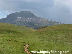 The Gravelly Range Road Backcountry Drive in Montana : Information, Photos and Maps