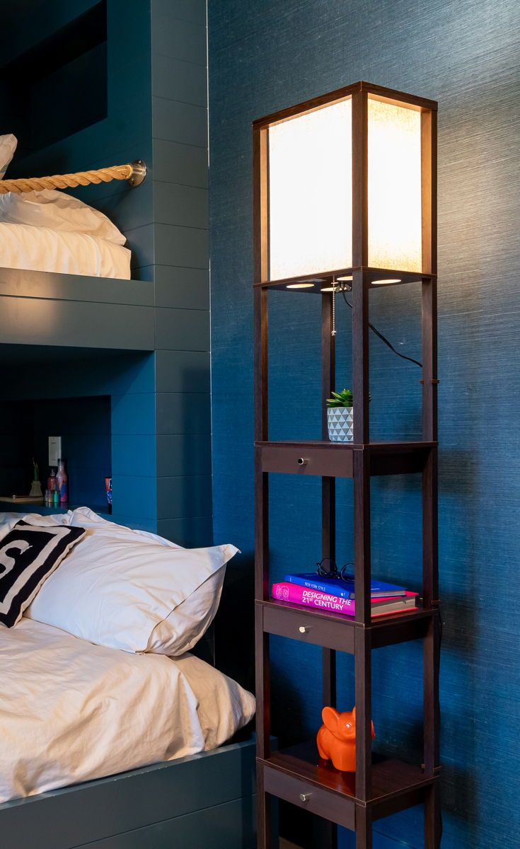 Beautiful The Drawers Are Perfect For Storing Small Items Such As Charger Cords,  Remote Controls, And More. Utilize The Convenience Of This Floor Lamp In  Your Bedroom ...