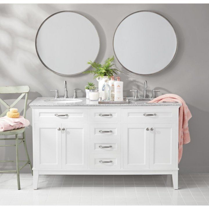Member S Mark Double Sink Vanity Sam S Club Double Sink Vanity Double Sink House Interior