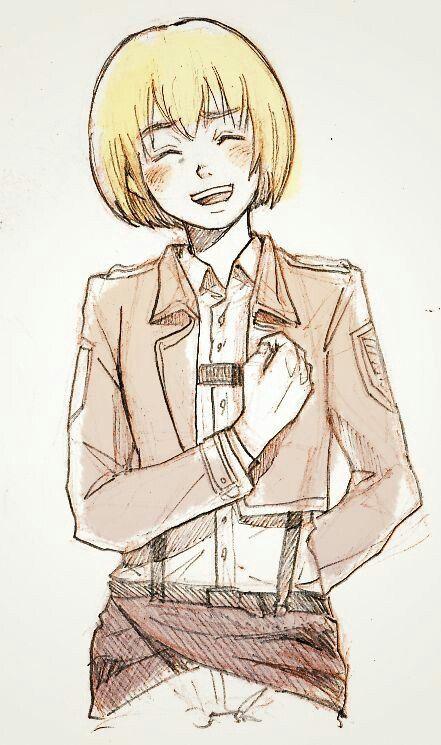 Armin Arlert. Sooo cute❤
