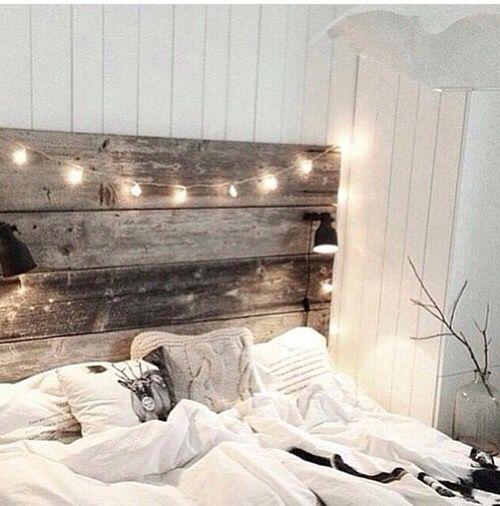 Bed frame & lights