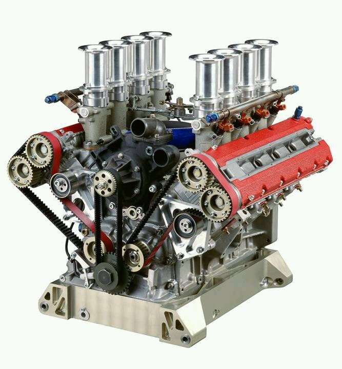 Ferrari 355 Super GT V8 engine