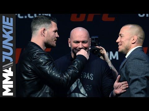 MMA Dana White says Michael Bisping will, indeed, face Georges St-Pierre