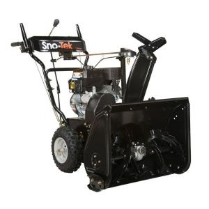 Sno-Tek 920404 (Ariens Economy) 24 in 136 cc 2-stage Snow Blower (2013 Model) Review at Home Depot. - MovingSnow.com