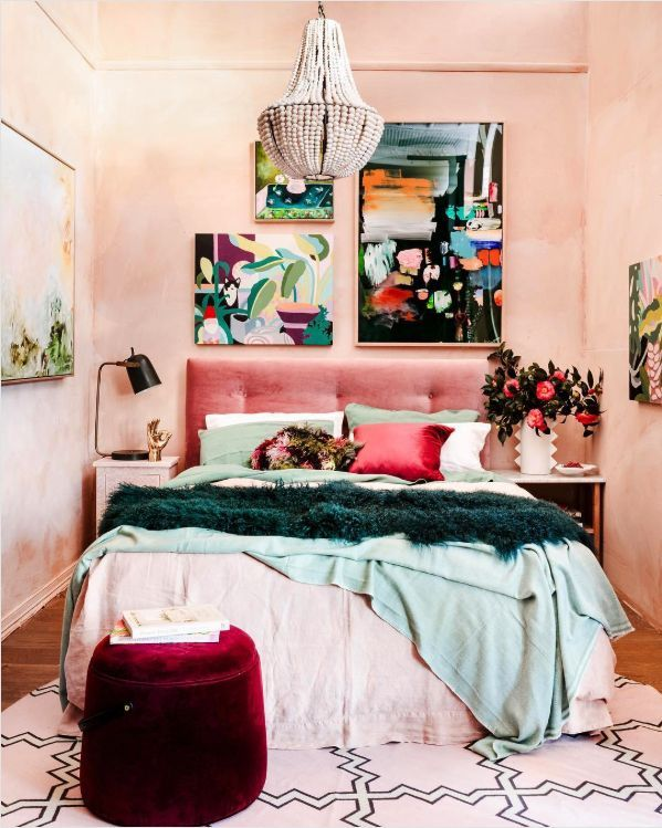 8 Key Elements To A Modern And Effortlessly Eclectic Bedroom Eclectic Bedroom Room Inspiration Home Eclectic bedroom wall ideas