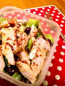 Logic Defying Fruity Chicken Salad www.theglasgowscullery.com
