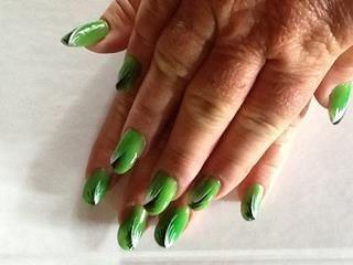 Pretty fluro green