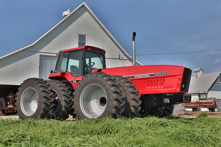 This 1984 7288 is one of only 19 made by International Harvester before their merger with Case IH