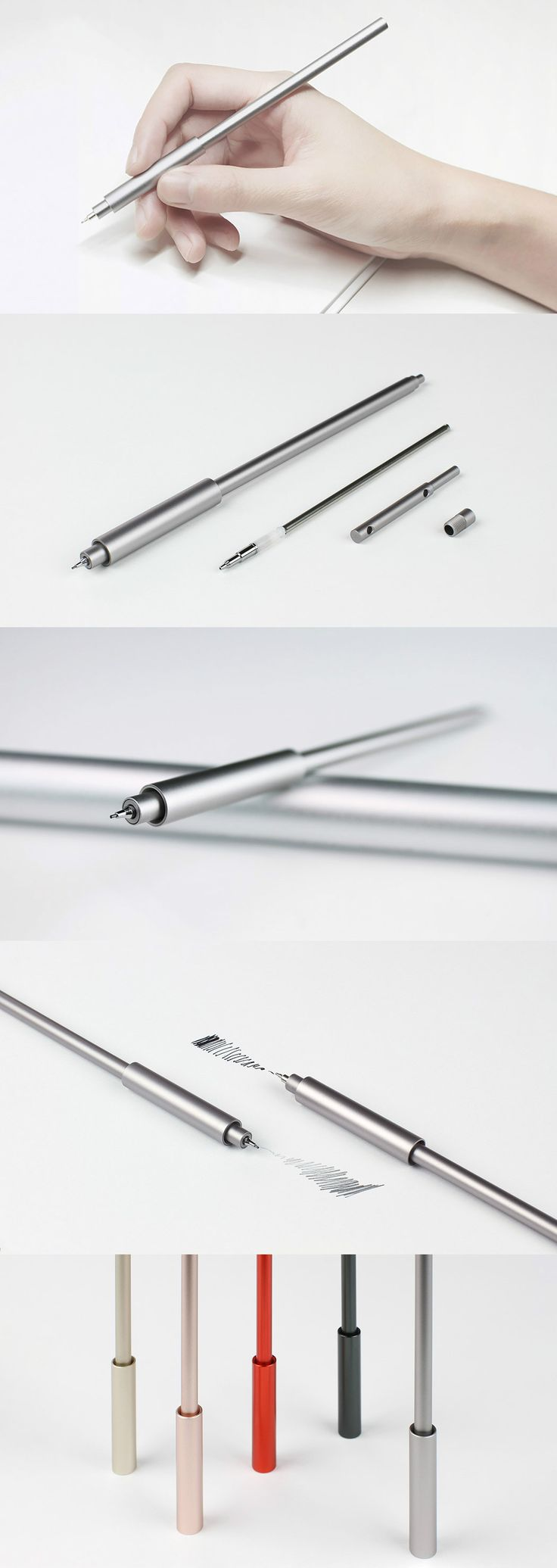 The Uno pen may be one of the most minimal on the market but it doesn't sacrifice functionality for that less-is-more look. Read Full Story at Yanko Design