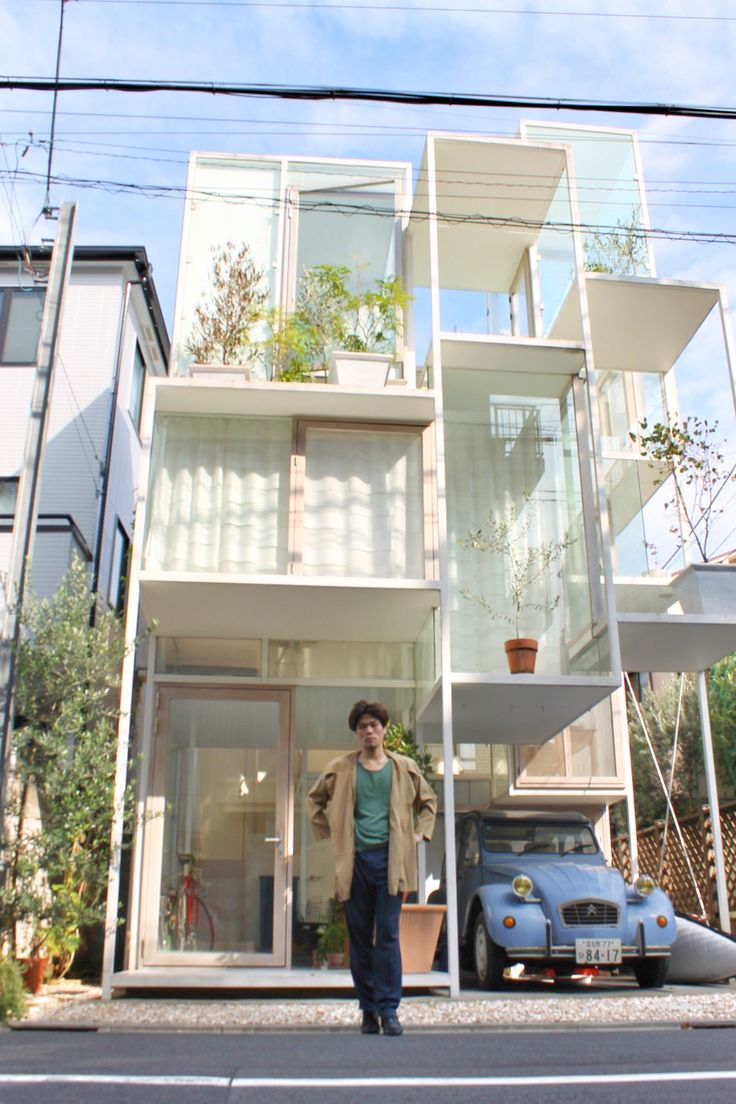 One of My Must-Visit Places in Japan, #HouseNA by #SouFujimoto #藤本壮介 #建築 #東京